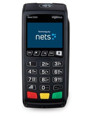 Nets Desk 3500 maksupääte.