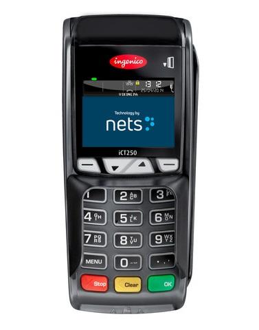 Nets iCT250 maksupääte