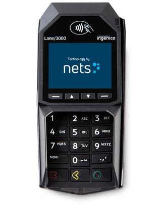 Nets Lane3000 maksupääte
